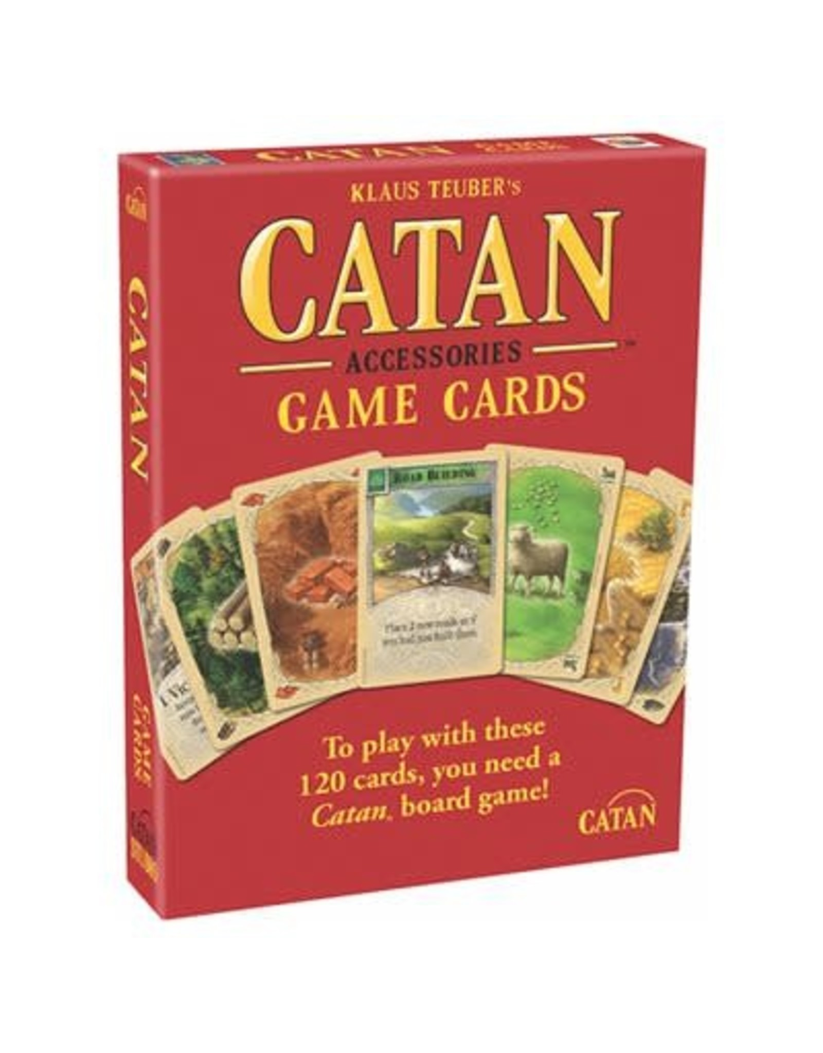Catan Catan Accessory Base Game Cards
