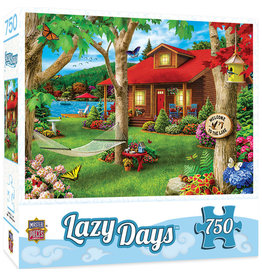 Master Pieces Lazy Days - Lakeside Retreat 750 pc Puzzle