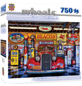 Master Pieces Wheels - At Your Service 750 pc Puzzle