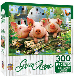 Master Pieces Green Acres - Three 'Lil Pigs 300 pc EZGrip Puzzle