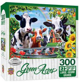 Master Pieces Green Acres - Moo Love 300 pc EZGrip Puzzle
