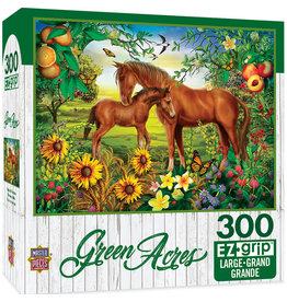 Master Pieces Green Acres - Neighs & Nuzzles 300 pc EZGrip Puzzle