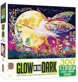 Master Pieces Glow in the Dark - Moon Fairy 300 pc EZGrip Puzzle