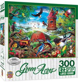 Master Pieces Green Acres - Farmland Frolic 300 pc EZGrip Puzzle