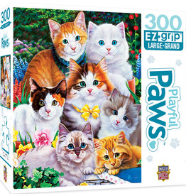 Master Pieces Playful Paws - Puuurfectly Adorable 300 pc EZGrip Puzzle