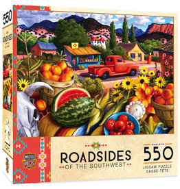 Master Pieces Roadsides of the Southwest - Summer Fresh 550 pc Puzzle
