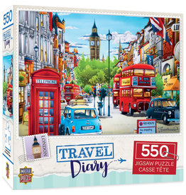 Master Pieces Travel Diary - London 550 pc Puzzle