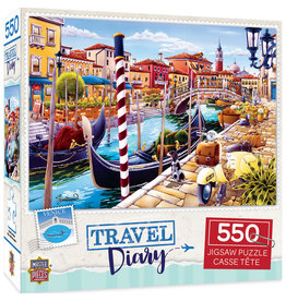 Master Pieces Travel Diary - Venice 550 pc Puzzle