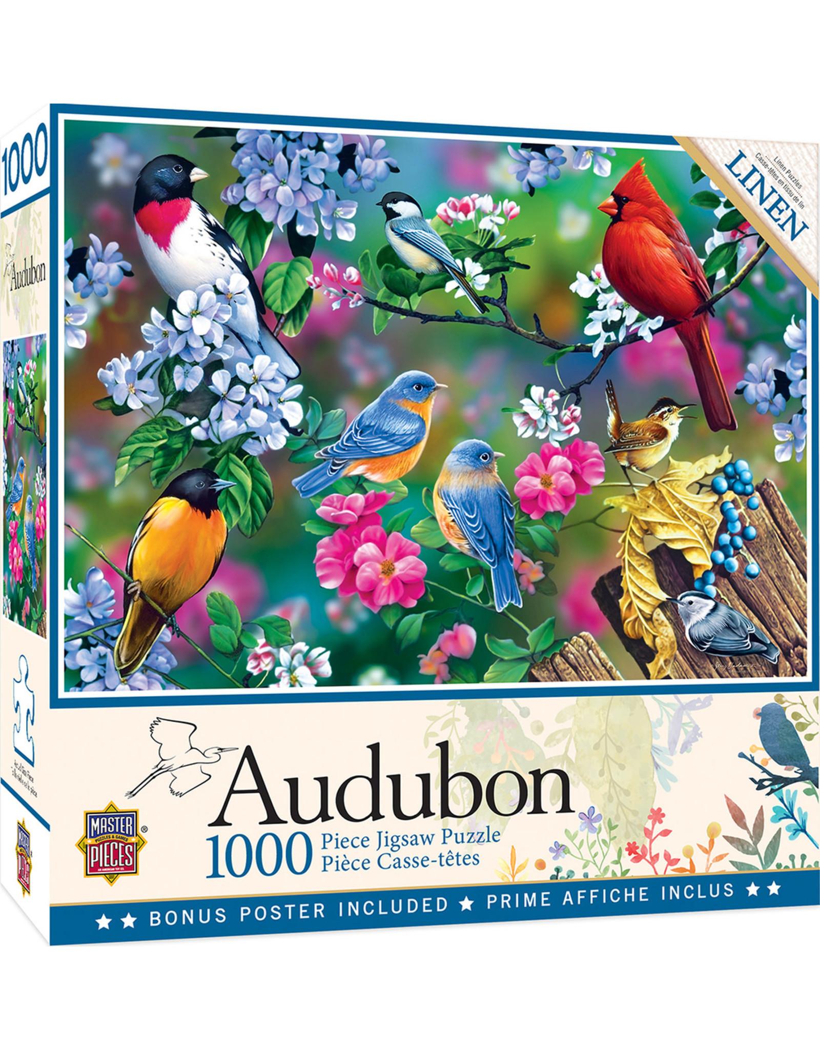 Master Pieces Audubon - Songbird Collage 1000 pc Puzzle