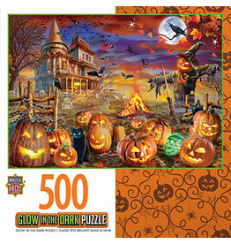 Master Pieces Halloween - All Hallow's Eve 500 pc Glow in the Dark Puzzle