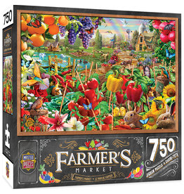 Master Pieces Farmer's Market - A Plentiful Season 750 pc Puzzle