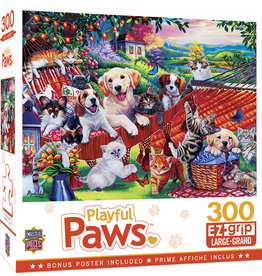 Master Pieces Playful Paws - A Lazy Afternoon 300 pc EZGrip Puzzle