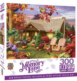 Master Pieces Memory Lane - Autumn Warmth 300 pc EZGrip Puzzle