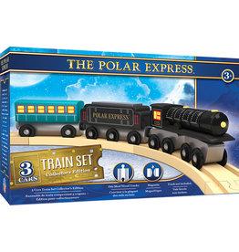 Master Pieces The Polar Express - 3 pc Wood Toy Train Set