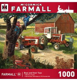 Master Pieces Farmall Case IH - Boys and Their Toys 1000 pc Puzzle
