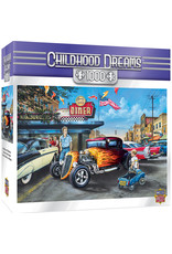 Master Pieces Childhood Dreams - Hot Rods and Milkshakes 1000 pc Puzzle