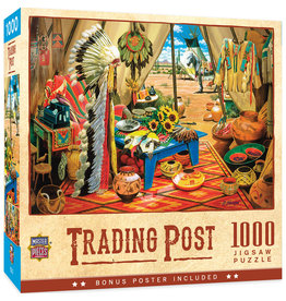 Master Pieces Tribal Spirit - Trading Post 1000 pc Puzzle