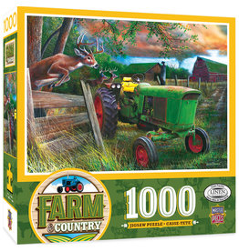 Master Pieces Farm & Country - Deer Crossing 1000 pc Puzzle