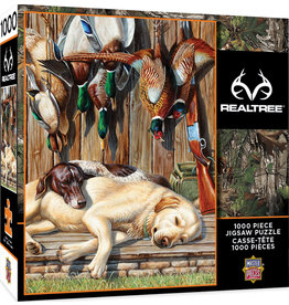 Master Pieces RealTree - All Tuckered Out 1000 pc Puzzle