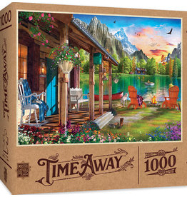 Master Pieces Time Away - Evening on the Lake 1000 pc Puzzle