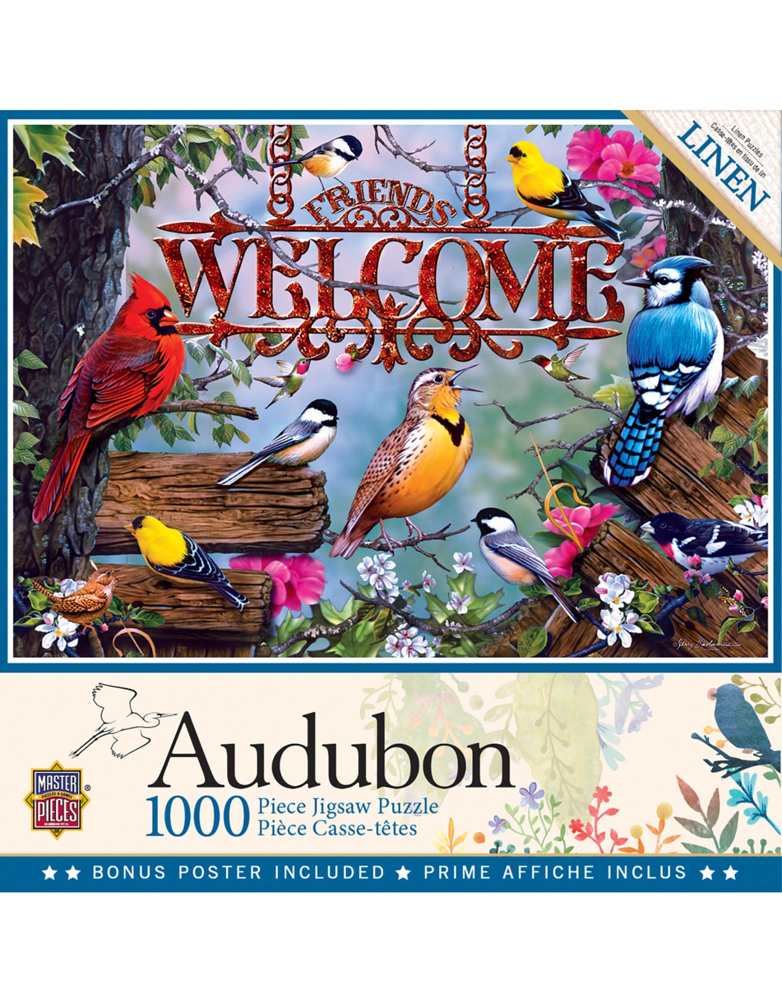 Master Pieces Audubon - Perched 1000 pc Puzzle