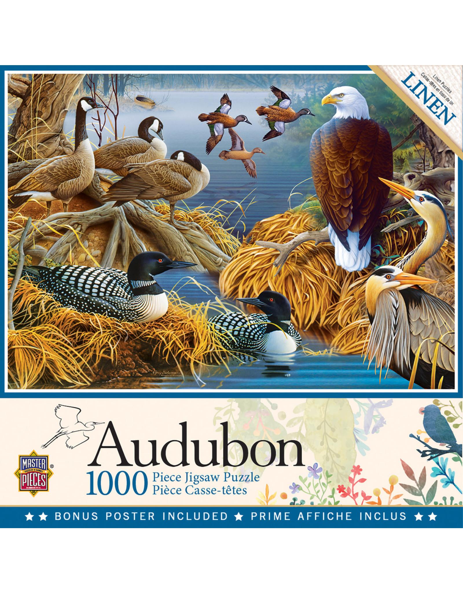 Master Pieces Audubon - Lake Life 1000 pc Puzzle