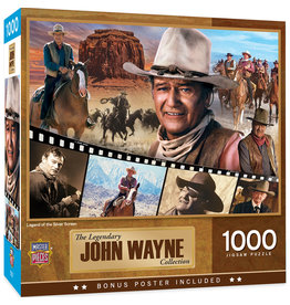 Master Pieces John Wayne - Legend of the Silver Screen 1000 pc Puzzle