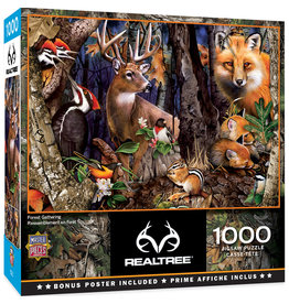 Master Pieces RealTree - Forest Gathering 1000 pc Puzzle