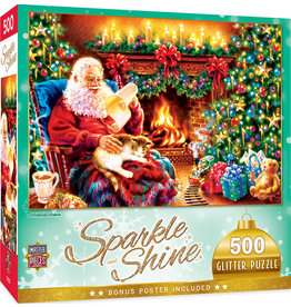 Master Pieces Holiday - Christmas Dreams 500 pc Glitter Puzzle