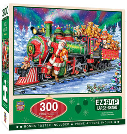 Master Pieces Holiday - North Pole Delivery 300 pc EZGrip Puzzle
