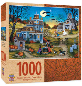 Master Pieces Halloween - Three Little Witches 1000 pc Puzzle
