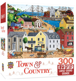 Master Pieces Town & Country - Home Port 300 pc EZGrip Puzzle