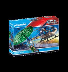 Playmobil Police Parachute Search