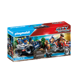 Playmobil Police Off-Road Car with Jewel Thief