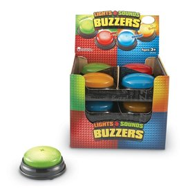 Learning Resources Lights & Sounds Answer Buzzer