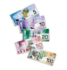 Learning Resources Canadian Currency Money for Wallet