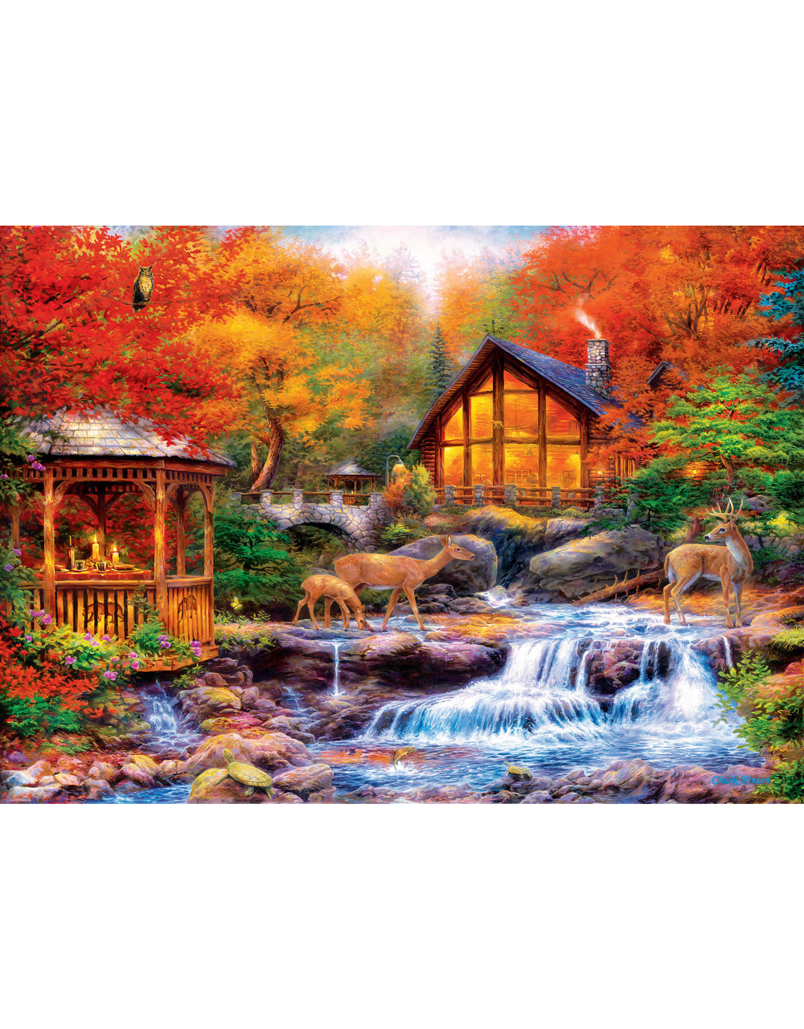 Master Pieces Art Gallery - Colors of Life 1000 pc Puzzle