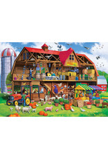 Master Pieces Cut-Aways - Family Barn 1000 pc EZGrip Puzzle