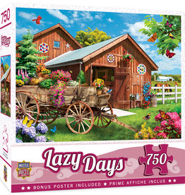 Master Pieces Lazy Days - Flying to Flower Farm 750 pc Puzzle