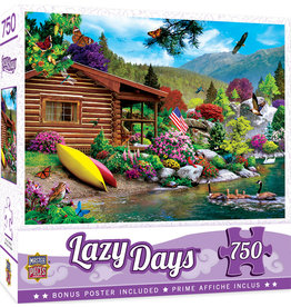 Master Pieces Lazy Days - Free to Fly 750 pc Puzzle