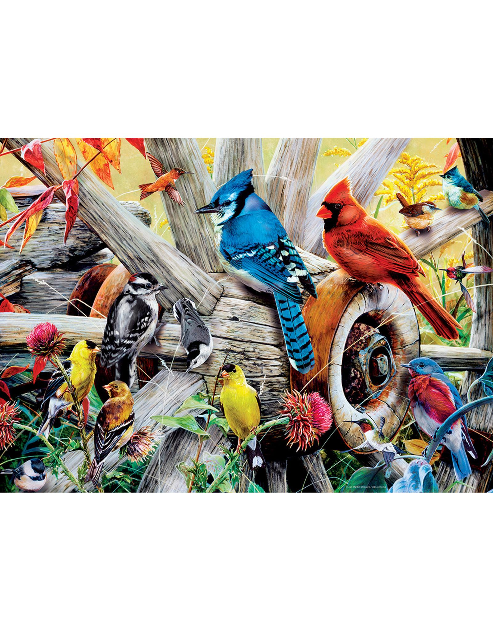 Master Pieces Audubon - Backyard Birds 1000 pc Puzzle