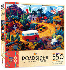 Master Pieces Roadsides of the Southwest - Touring Time 550 pc Puzzle