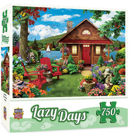 Master Pieces Lazy Days - Waterfront 750 pc
