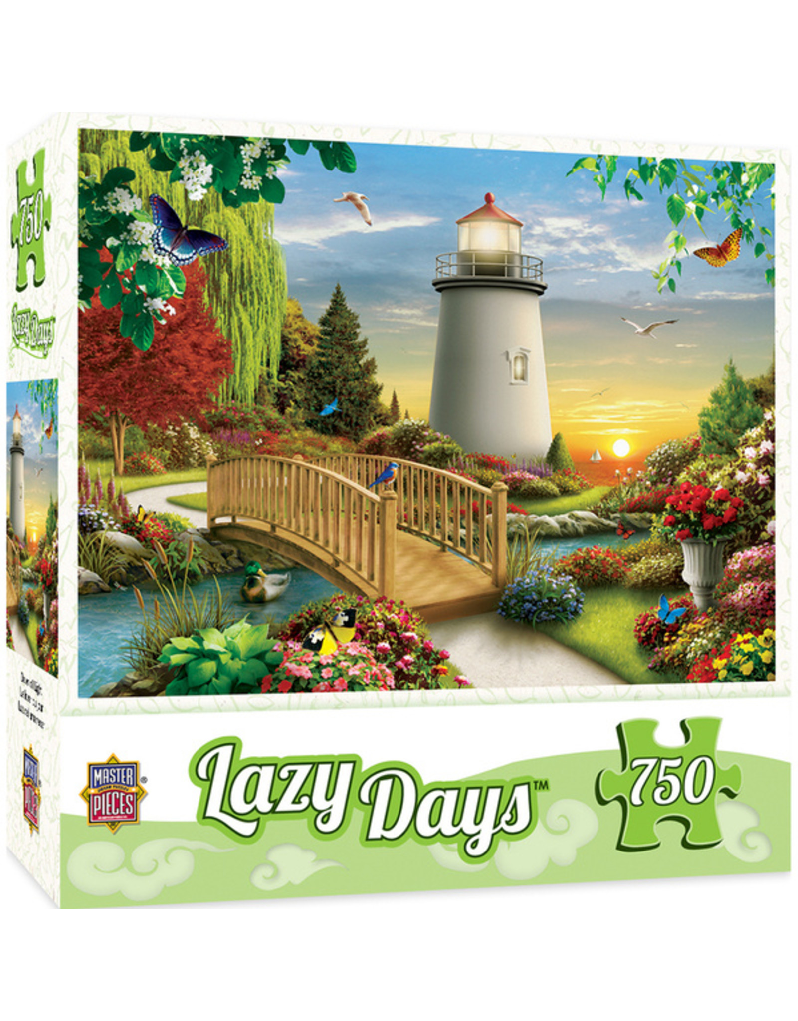Master Pieces Lazy Days - Dawn of Light 750 pc