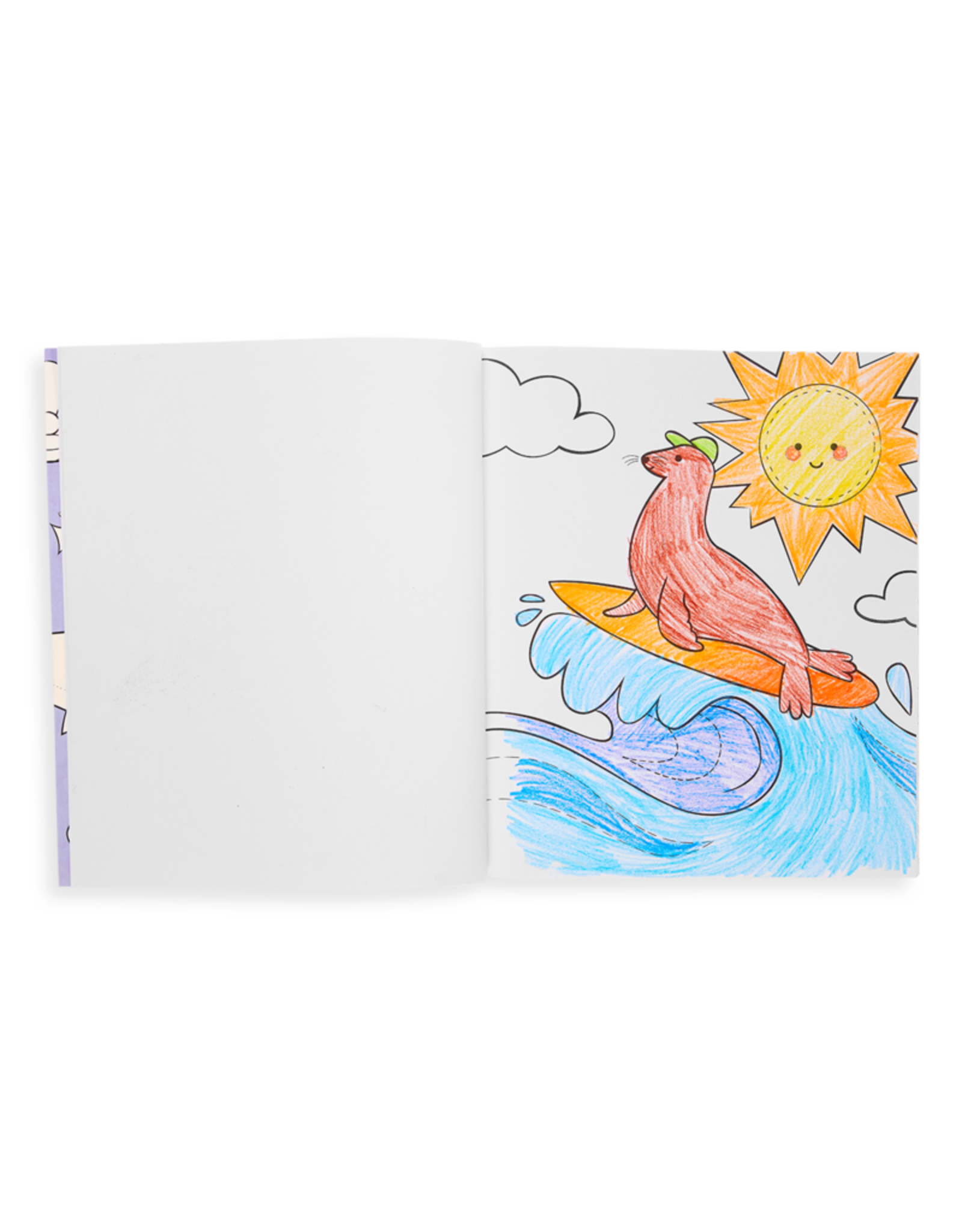 Ooly Coloring Book - Outrageous Ocean