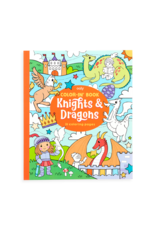 Ooly Coloring Book - Knights & Dragons