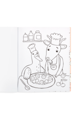 Ooly Coloring Book - Little Farm Animals
