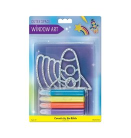 Creativity For Kids Window Art - Outer Space