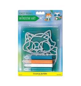 Creativity For Kids Window Art - Forest Friends