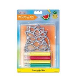 Creativity For Kids Window Art - Fun Fruit
